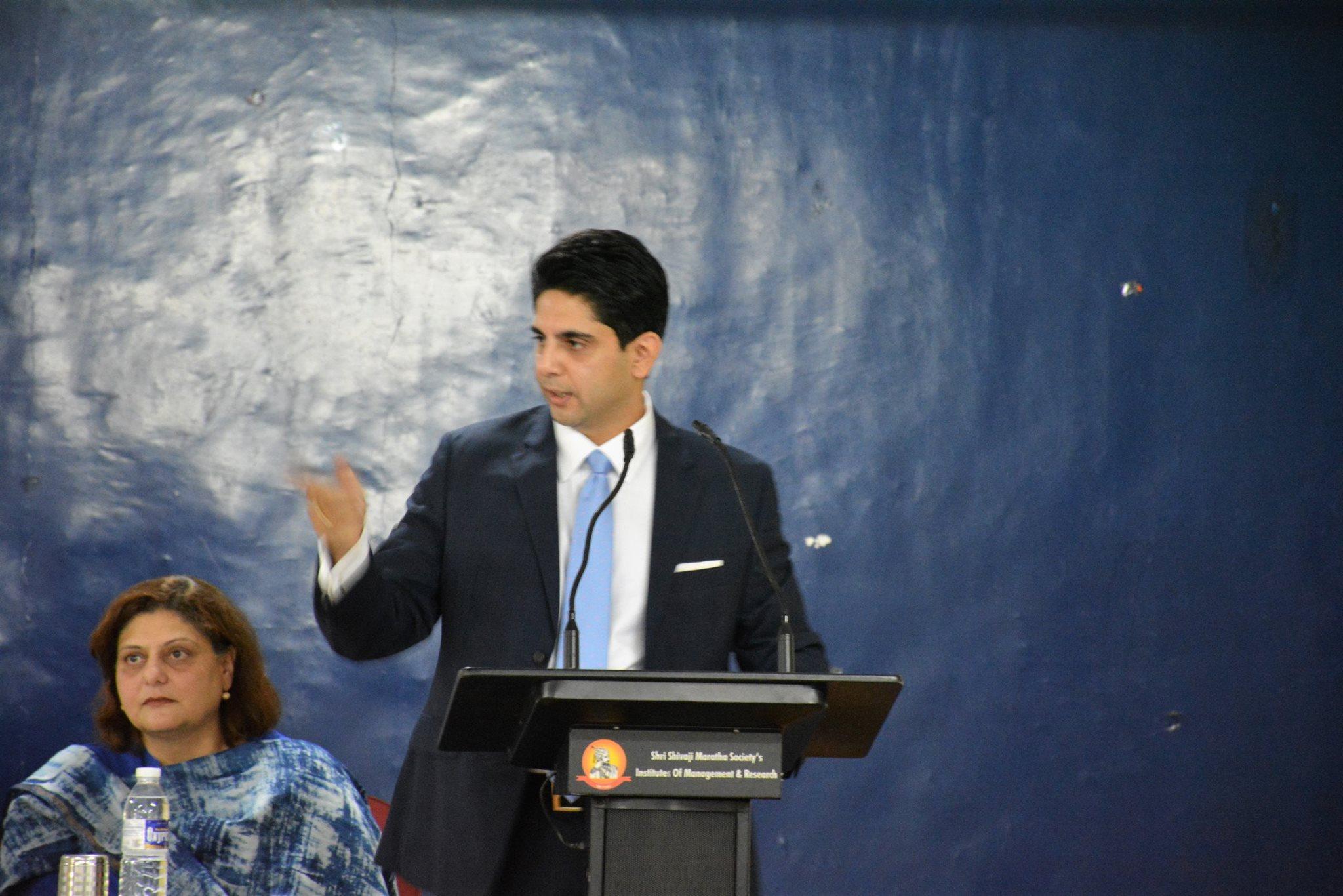 Induction Program Speech by Mr. Chirag Shah