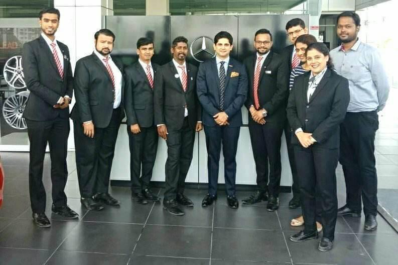Workshop for After Sales Staff - BU Bhandari Mercedes Benz